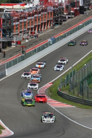 De Belcar in het kader van de 12 Hours of Spa