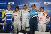 De persconferentie volgende op de kwalificaties te Circuit Zolder